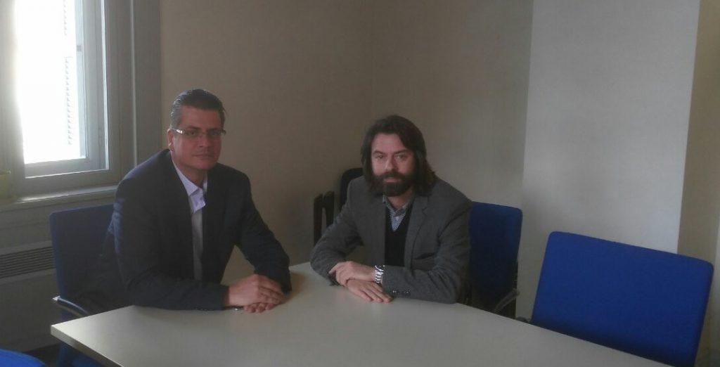 Αποτέλεσμα εικόνας για Με τον Πρόεδρο του Πράσινου Ταμείου  Ε. Σταθόπουλο συναντήθηκε ο Γ. Ταγκαλέγκας