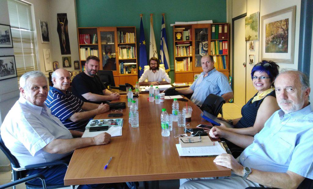 Συνάντηση εργασίας Δημάρχου Λεβαδέων με εκπροσώπους Δικτύων Πόλεων ...