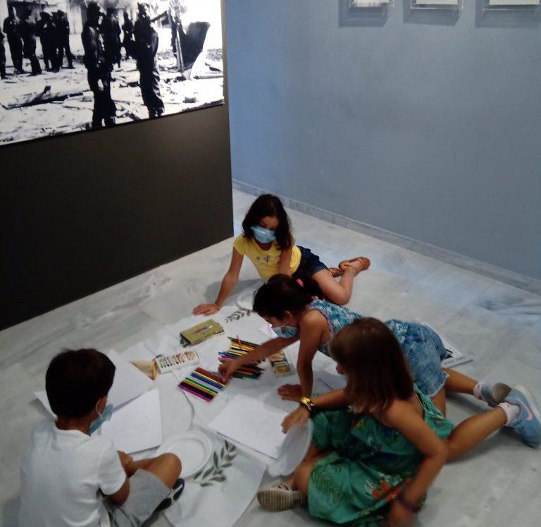 Δίστομο: Το Μουσείο Θυμάτων Ναζισμού με τα χρώματα των παιδιών… – Sirios Fm  95,8